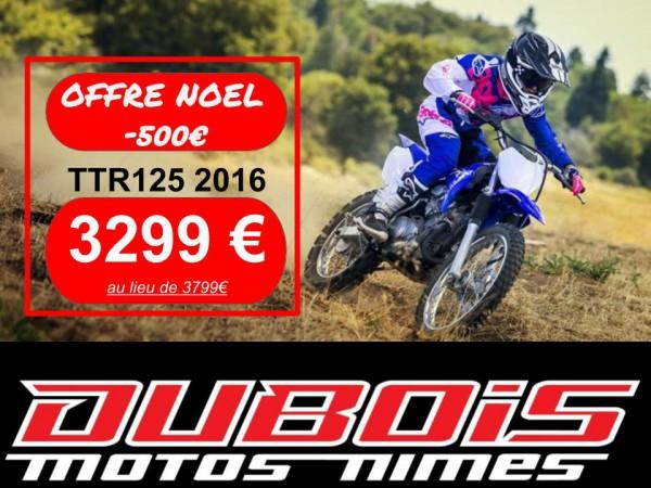 OFFRE NOEL TTR125